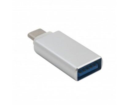 Адаптер Extradigital USB 3.0 AF - USB Type C, SuperSpeed, Aluminium