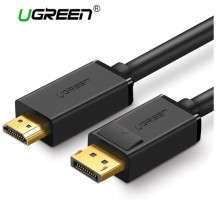 Displayport - HDMI кабель Ugreen с поддержкой 4K  длина 1 метр
