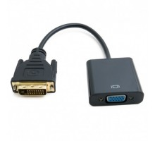 Адаптер DVI-D Dual Link (Male)-VGA (Female), 0.15 m